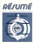 Résumé, December, 1977, Volume 09, Issue 03 by Alumni Association, WWU