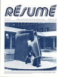 Résumé, February, 1978, Volume 09, Issue 05 by Alumni Association, WWU