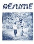 Résumé, May, 1978, Volume 09, Issue 08