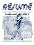 Résumé, September, 1978, Volume 09, Issue 12 by Alumni Association, WWU