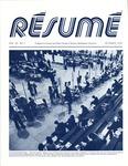 Résumé, October, 1978, Volume 10, Issue 01 by Alumni Association, WWU