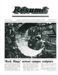 Résumé, November, 1978, Volume 10, Issue 02 by Alumni Association, WWU