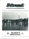 Résumé, December, 1978, Volume 10, Issue 03 by Alumni Association, WWU