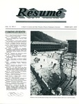 Résumé, February, 1979, Volume 10, Issue 05 by Alumni Association, WWU