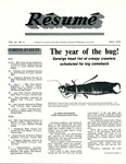 Résumé, May, 1979, Volume 10, Issue 08 by Alumni Association, WWU