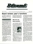 Résumé, June, 1979, Volume 10, Issue 09
