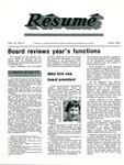 Résumé, June, 1979, Volume 10, Issue 09 by Alumni Association, WWU
