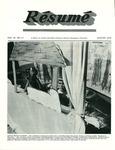Résumé, August, 1979, Volume 10, Issue 11