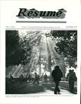 Résumé, October, 1979, Volume 11, Issue 01 by Alumni Association, WWU