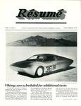 Résumé, November, 1979, Volume 11, Issue 02