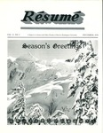 Résumé, December, 1979, Volume 11, Issue 03 by Alumni Association, WWU