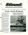 Résumé, January, 1980, Volume 11, Issue 04
