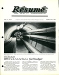 Résumé, February, 1980, Volume 11, Issue 05