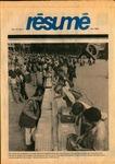 Résumé, Fall, 1980, Volume 12, Issue 01