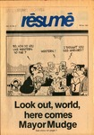 Résumé, Winter, 1981, Volume 12, Issue 02