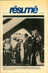 Résumé, Spring, 1981, Volume 12, Issue 03