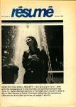 Résumé, Summer, 1982, Volume 13, Issue 04