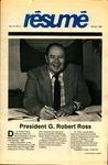Résumé, Winter, 1983, Volume 14, Issue 02