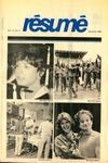 Résumé, Summer, 1983, Volume 14, Issue 04