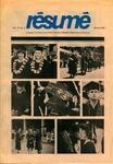 Résumé, Spring, 1985, Volume 16, Issue 03
