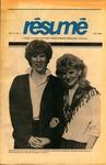 Résumé, Fall, 1985, Volume 17, Issue 01