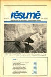 Résumé, Spring, 1990, Volume 21, Issue 02
