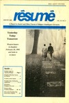 Résumé, Winter, 1993, Volume 24, Issue 02