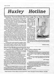 Huxley Hotline, 1995, March 29 by Traci Edge and Huxley College of the Environment, Western Washington University