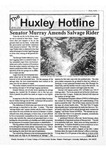 Huxley Hotline, 1996, March 13 by Traci Edge and Huxley College of the Environment, Western Washington University