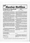 Huxley Hotline, 1995, October 17 by Traci Edge and Huxley College of the Environment, Western Washington University