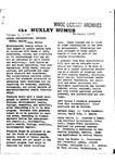 Huxley Humus, 1971, Volume 01, Issue 03