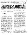 Huxley Humus, 1974, Volume 04, Issue 05