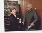 Dr. Muhammad Yunus and Lorraine Kasprisin