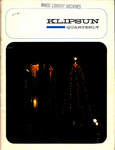 Klipsun Magazine, 1967, Volume 01, Issue 01 - Fall 1967