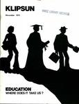 Klipsun Magazine, 1973, Volume 04, Issue 01 - November