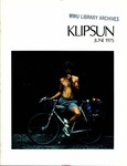 Klipsun Magazine, 1975, Volume 05, Issue 05 - June