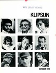 Klipsun Magazine, 1975, Volume 05, Issue 06 - October