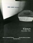 Klipsun Magazine, 1976, Volume 07, Issue 01 - November