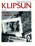 Klipsun Magazine, 1978, Volume 09, Issue 01 - November
