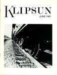 Klipsun Magazine, 1981, Volume 11, Issue 05 - June