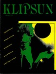 Klipsun Magazine, 1985, Volume 17, Issue 01 - September