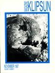 Klipsun Magazine, 1987, Volume 19, Issue 01 - November