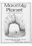 Monthly Planet, 1986, February
