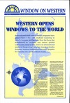 Window on Western, 1996, Volume 03, Issue 01 by Kathy Sheehan; Kerry Tessaro; and Alumni and Public Information Offices, Western Washington University