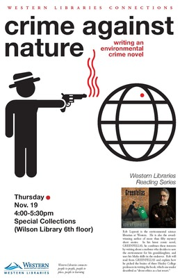 Crime Against Nature: Writing an Environmental Crime Novel