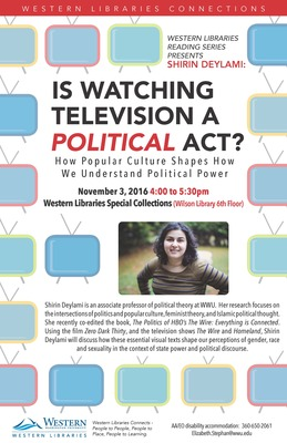 Is Watching Television a Political Act?